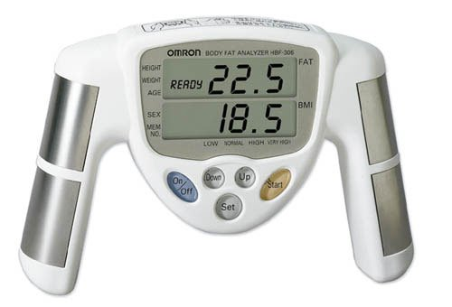 Cheap Omron HBF-306C Hand Held Body Fat Analyzer (HBF-306C)