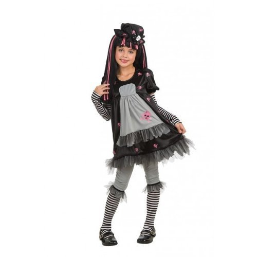 Disney-i-52559-Dolly Fancy Dress Wig-Black by Disney