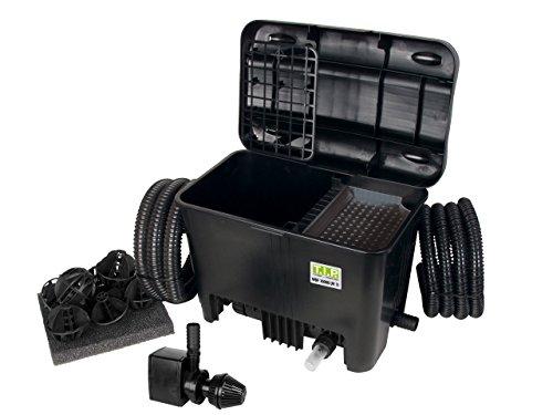 Teichaußenfilter WDF 10000 UV 11, UV-C 11 Watt, für Teiche bis zu 10.000 Liter