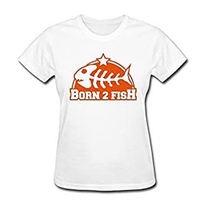 Born Fish Sport T Shirts For Women,School T Shirt