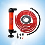 Tirol Portable Car Oil Extractor Water Oil Fuel Transfer Gas Liquid Pipe Siphon Tool Air Pump Kit