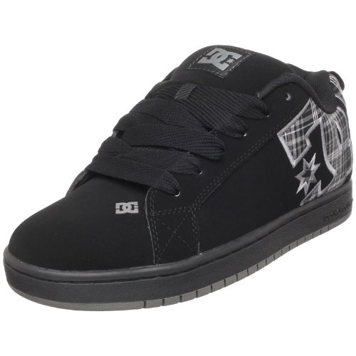 DC Men's Court Graffik SE Skate Shoe,Battleship,10.5 M US