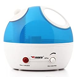 Eware 3K037 Cool Mist Ultrasonic Humidifier with Whisper-quiet Operation Automatic Shut-off