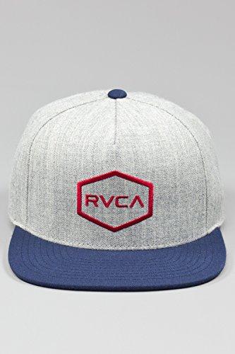rvca-herren-cap-grau-einheitsgrosse
