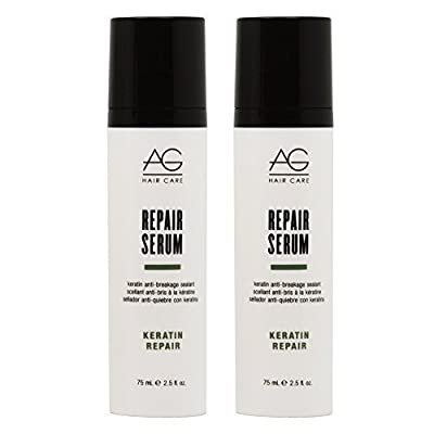 "AG Hair Keratin Repair Serum Keratin Anti-breakage Sealant 2.5oz ""Pack of 2"""