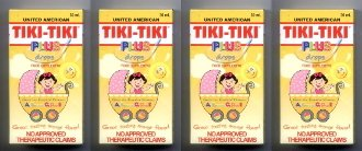 4 Tiki Tiki Vitamins Infant Drops United American Rice Bran