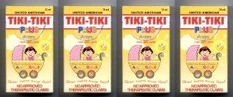 4 Tiki Tiki Vitamins Infant Drops United American Rice Bran