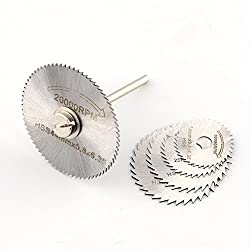 6pc HSS Circular Saw Blade Set For Metal & Dremel Rotary for Wood Aluminum Cutting Rotary tool