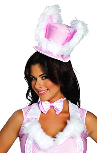 Sexy Top Hat Fur Bunny Halloween Hat