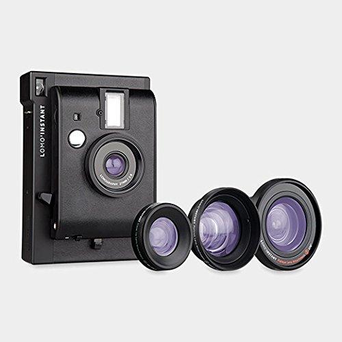 Lomo'Instant カメラ セット ブラック