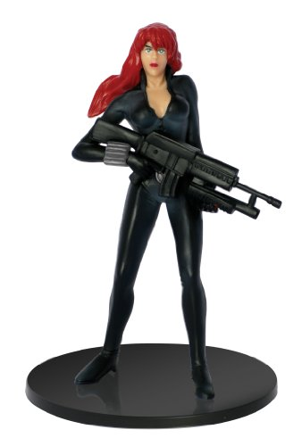 Marvel Black Widow PVC Figure, 4""