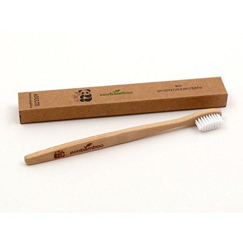 Ecobamboo Bambus Zahnbürste - super weich thumbnail