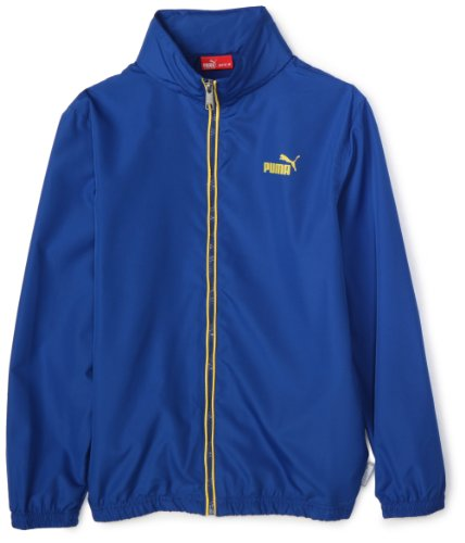 Puma Boys 8-20 Boy Packable Windbreaker,Blue,Small
