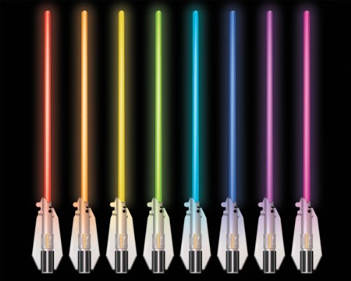 Multicolor Lightsaber Room Light