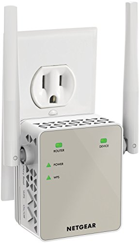 NETGEAR AC1200 WiFi Range Extender - Essentials Edition (EX6120-100NAS) (Top Rated Wi Fi Extenders compare prices)