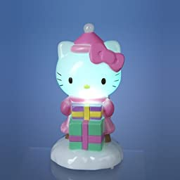 Kurt Adler Battery-Operated Hello Kitty LED Light-Up Tablepiece by Kurt Adler