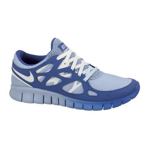 NikeNike Women's NIKE FREE RUN 2 EXT WMNS RUNNING SHOES 6.5 Women US (LIGHT BLUE/SAIL/HYPER BLUE)