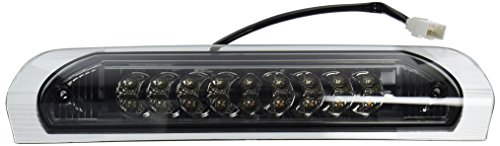 Spec-D Tuning LT-RAM02RBGLED-CY Dodge Ram 1500 Standard Crew Exteneded Smoked Lens 3Rd Third Led Brake Light (Smoked Tail Lights Dodge Ram compare prices)
