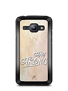 YuBingo Stay Strong Designer Mobile Case Back Cover for Samsung Galaxy J1