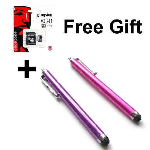 Bargains Depot® (Purple & Pink) 2 pcs (2 in 1 Bundle Combo Pack) Capacitive Stylus/styli Universal Touch Screen Pen for Tablet PC Computer : HTC EVO View 4G Android Tablet, HTC Flyer 7 inch Android Tablet 16GB, Motorola Xoom 10.1 Inch 32GB Android Tablet
