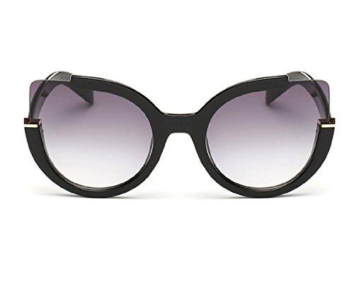 Bluegrass Womens Fashion oversized Round Cateye UV400 Sunglasses C1
