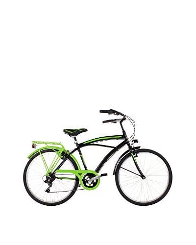 SCHIANO Fahrrad 26 Cruiser 123 schwarz/grün