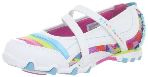 Skechers PrimaPrancy Ballet Flats Girls White Weià (WMLT) Size: 35