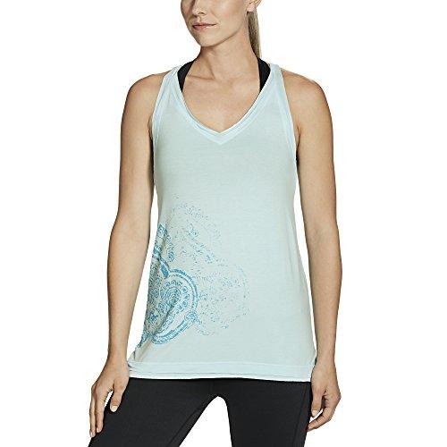 Gaiam Women's Harper Tank, Crystal Blue, X-Small