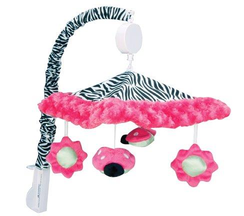 Zebra Print Crib
