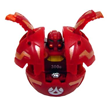 Bakugan Game Single Loose Figure Nova 12 Robotallion Red