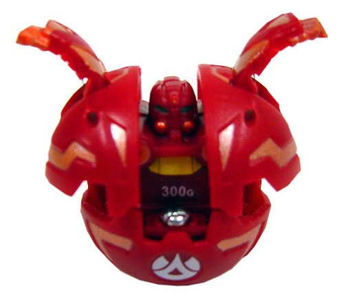 Buy Low Price Spin Master Bakugan Game Single LOOSE Figure Nova 12 Robotallion [Red] (B001D0KOMA)