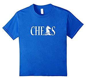 Chess T-Shirt Distressed Knight for Men Women Boys and Girls
