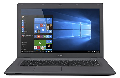 Acer Aspire E 17, 17.3-inch Full HD, Intel Core i7-5500U, 8GB DDR3L, 1TB HDD, Windows 10, E5-772G-76ED