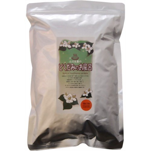 小川生薬のどくだみのお風呂 25g×10袋: 小川生薬