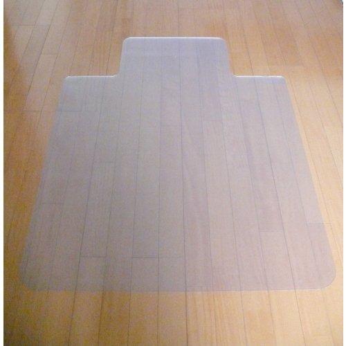 【安心の日本製】 床を保護するクリアチェアマット [122×91cm、厚さ1.5mm] (A711) チェア マット
