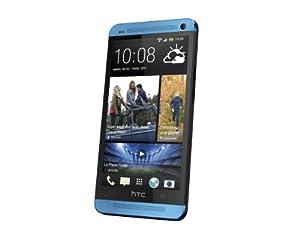 HTC One Smartphone débloqué 4G Ecran 4,7 pouces Mémoire 32 Go 4 Ultrapixels Android 4.1 Jelly Bean Bleu