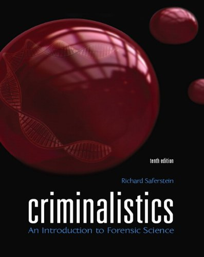 Criminalistics: An Introduction to Forensic Science (10th...