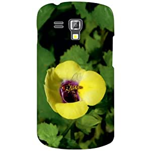 Samsung Galaxy S Duos 7582 Back Cover - Yellow Sunflower Designer Cases