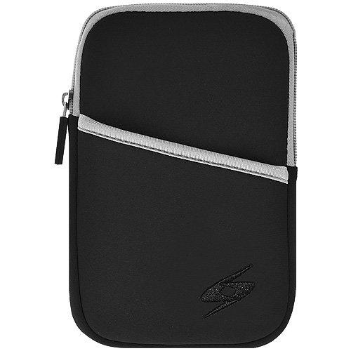 Imagen de Amzer 7.5 pulgadas Funda de neopreno universal con bolsillo para las tabletas y netbooks, libros electrónicos - Negro (AMZ92913)