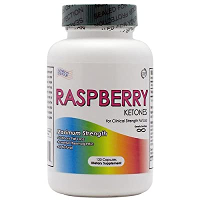 Raspberry Ketones- #1 Natural Weight Loss Supplement - 120 Capsules, 250 Mg, 1 Capsule Per Serving of 250mg Raspberry Ketones