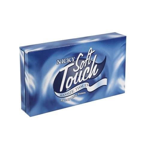 Nicky Soft Touch - Premium 2 Ply Facial Tissues - Man Size (x12)