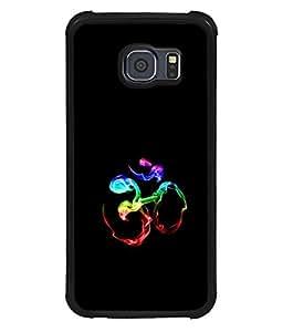 printtech Smokey Om Namah Shivaya Back Case Cover for Samsung Galaxy S6 Edge::Samsung Galaxy Edge G925