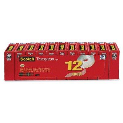 MMM600K12 - Scotch Transparent Tape