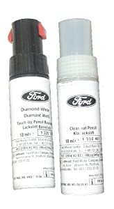 Ford Touch Up Paint - Diamond White No.2 from Ford Motor Company