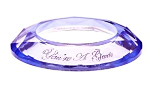 Ted Baker Maddox Acrylic Stacking Bangle Lilac Translucent of Diameter 6.3 centimeters