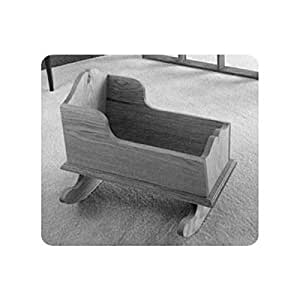 Woodworking Project Paper Plan to Build Easy Doll Cradle ...