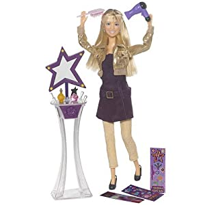 Hannah Montana Secret Celebrity Lifestyle Doll with Vanity