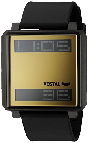 Vestal-Transom-Quartz-Stainless-Steel-and-Polyurethane-Casual-Watch-ColorBlack-Model-TRADR07