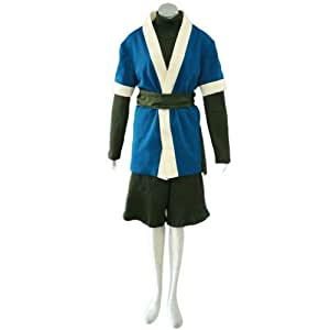 CTMWEB Naruto Cosplay Costume - Haku Outfit 1st Version Set X-Large