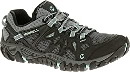 Merrell Women\'s All Out Blaze Aero Sport Hiking Water Shoe,Black/Aventurine,6 M US
